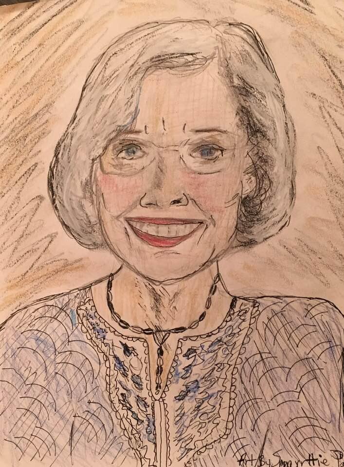 Maxine's Birthday Sketch